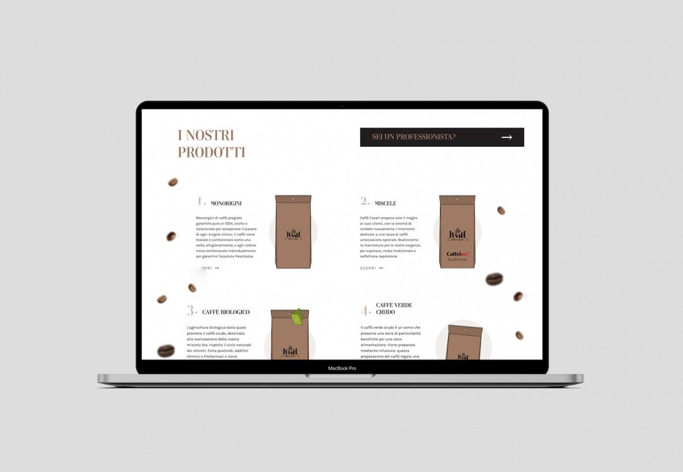Il nuovo sito web di Caffè Fusari è online!